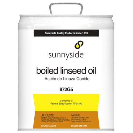 - Sunnyside Corporation 5GAL Boiled Linseed Oil
