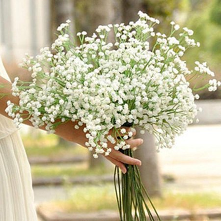 1pc bridal wedding bouquet flower arrangement home decorative flowers real touch silk artificial flowerswedding