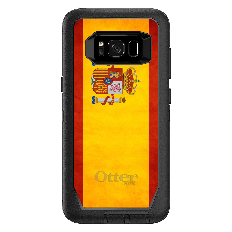 DistinctInk Custom Black OtterBox Defender Series Case for Samsung Galaxy S8+...