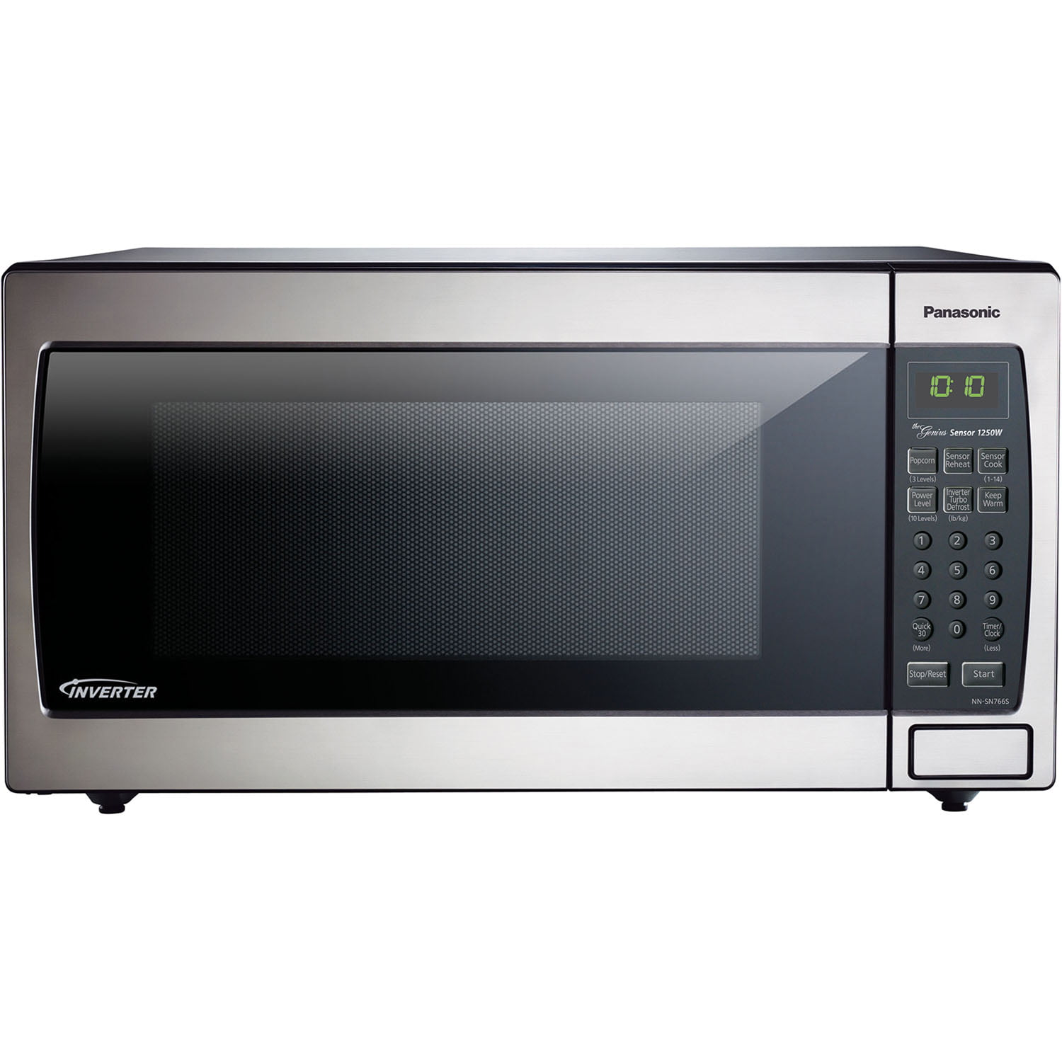 Panasonic 16 Cu Ft Stainless Steel Microwave With Inverter Nn