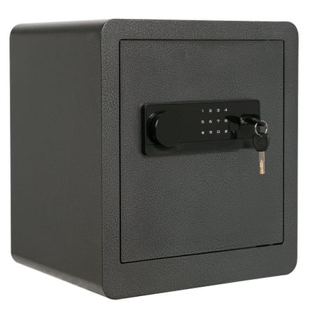 1.5 Cubic Feet Digital Security Safe with LED Display Safe Lock Solid Steel Construction with Deadbolt Lock for Home Hotel Gun thumbnail