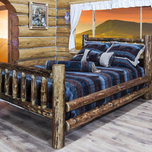 Montana Woodworks Glacier Country Panel Bed