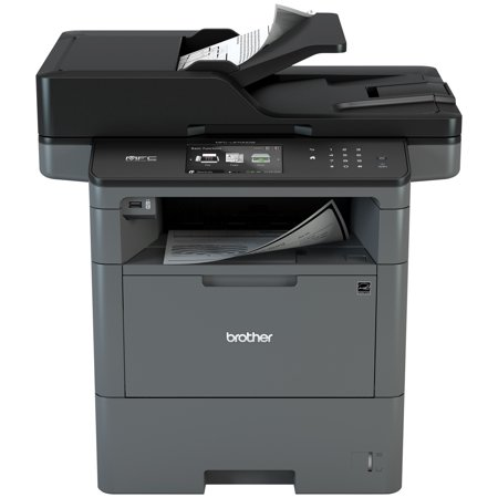 Brother Monochrome Laser Multifunction All-In-One Printer, MFC-L6700DW, Duplex Two-Sided Printing & Scanning & Copying, Wireless Networking, Mobile Printing and (Best Cardstock Laser Printer)