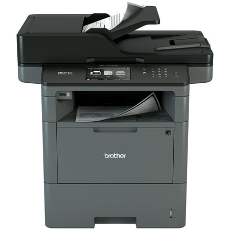Brother Monochrome Laser Multifunction All-In-One Printer, MFC-L6700DW, Duplex Two-Sided Printing & Scanning & Copying, Wireless Networking, Mobile Printing and