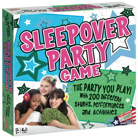 Sleepover Slumber Party Game- Young Tween Teens Girlfriend Fun Activities - Fun Halloween Games For Tween Parties