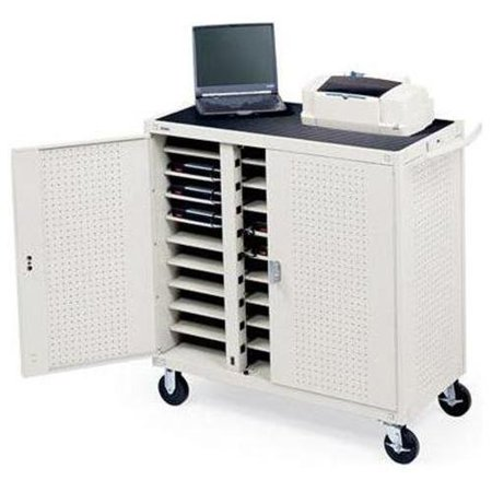 Bretford lap30eulba gm 30 unit ul listed laptop cart - Computer cart walmart ...