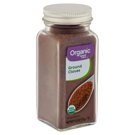 Great Value Organic Ground Cloves, 1.8