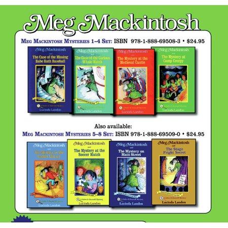 Mackintosh Throw - Meg Mackintosh Mysteries Set : Books 5-8