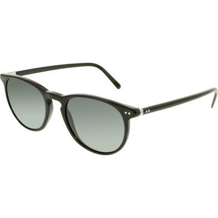 Polo Men's PH4044-500187-52 Black Round Sunglasses