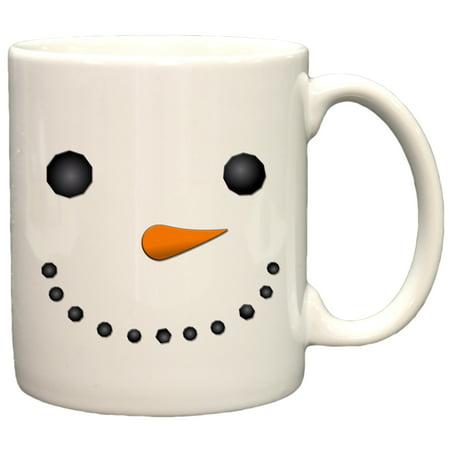 Snowman Face Funny Christmas 11oz Coffee Mug