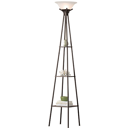 Mainstays Etagere Floor Lamp, CFL Bulb Included