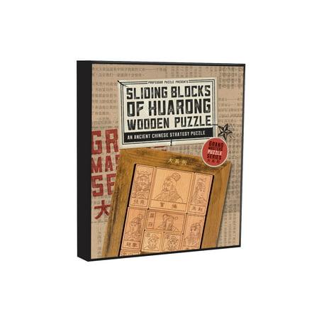 Professor Puzzle - Grand Masters Sliding Blocks of Huarong (Sliding Puzzles)