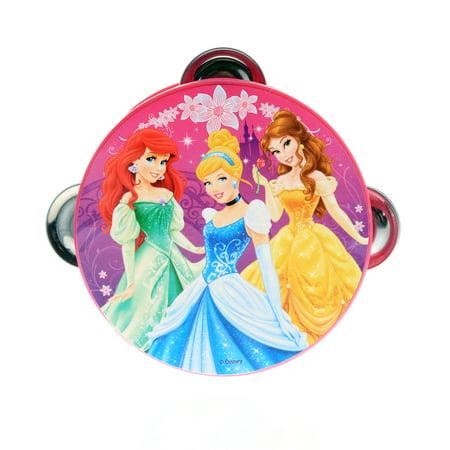 Disney Princess Girls Musical Toy Tambourine Educational Instrument For Kids