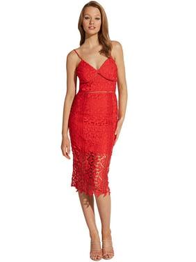 Bardot Women's Roxy Leaf Lace Dress