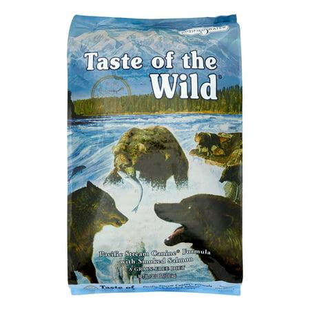 Taste of the Wild Pacific Stream Grain-Free Dry Dog Food, 30