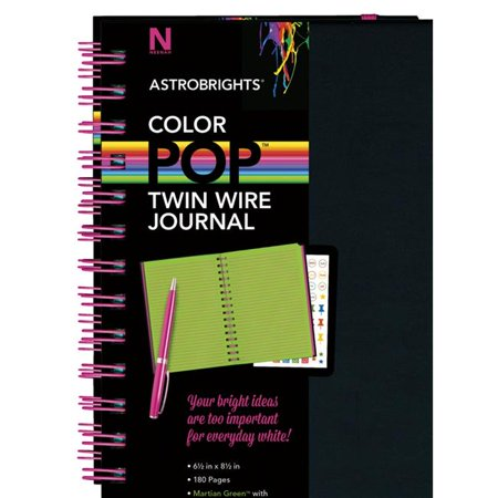 General Journal Paper (Neenah Paper 1569867 6.5 x 8.5 in. ColorPop Twin Wire Journal, Martian Green)