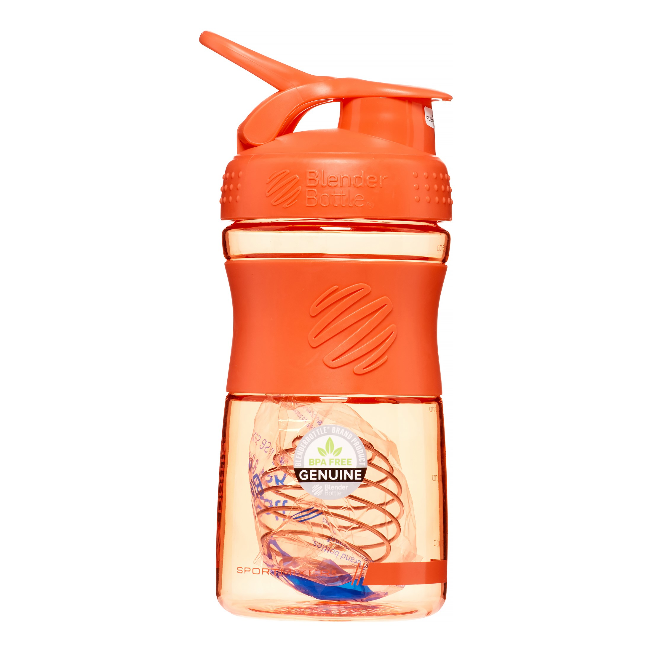 20-oz. BlenderBottle? SportMixer? Tritan Grip - Coral