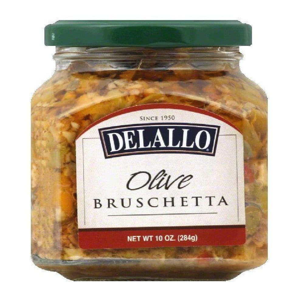DeLallo Bruschetta, Olive, 10 Oz