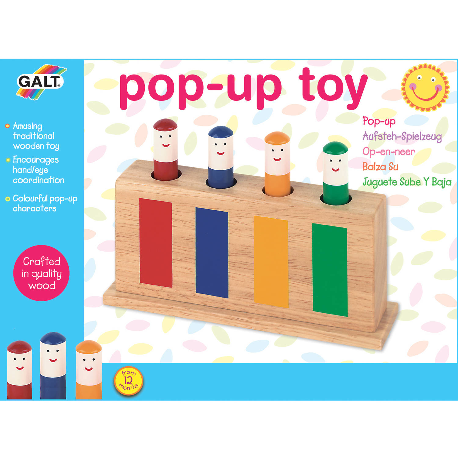 Galt First Years A0138L Pop Up Toy