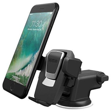 iottie easy one touch 3 (v2.0) car mount universal phone holder for iphone 7 plus 6s plus se samsung galaxy s8 edge s7 s6 note 5- retail packaging-