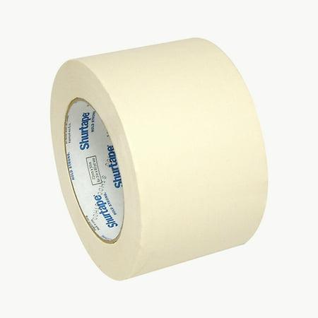 Shurtape CP-83 Utility Grade Masking Tape: 3 in. x 60 yds. (Natural)