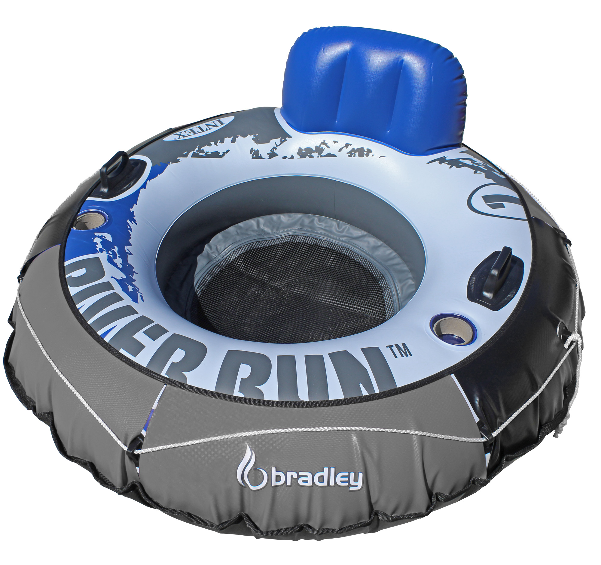 "Heavy Duty River Tube Cover | Compatible with Intex River Run, Bestway Rapid Rider & Most 53"" Inflatable River Tube"