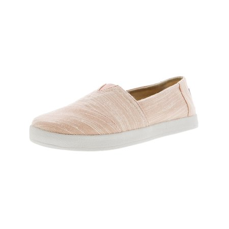 0c530809ba3 Toms - Toms Women s Avalon Slubby Cotton Bloom Ankle-High Slip-On Shoes -  8.5M - Walmart.com