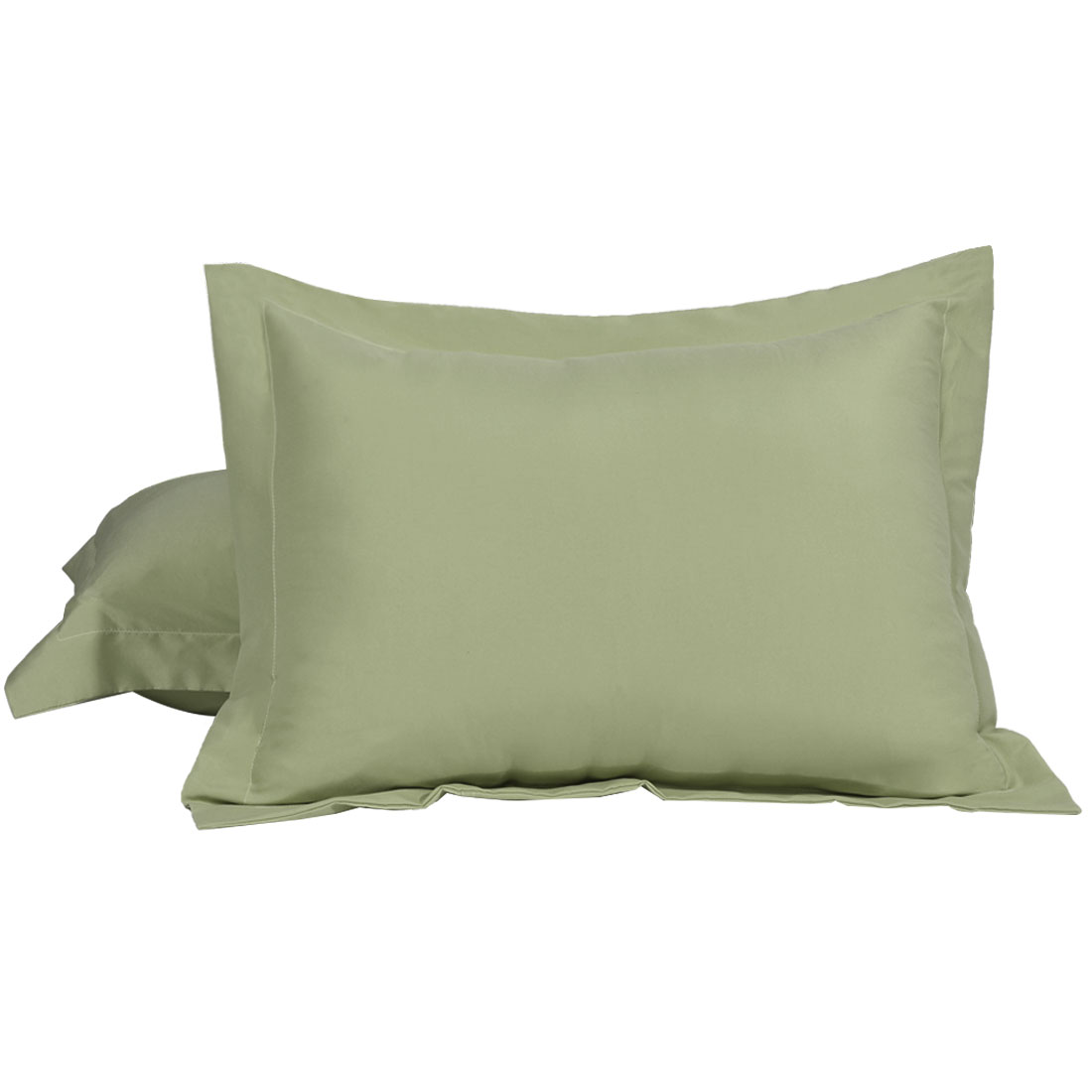 31-Inch by 21-Inch Patch Magic Green Hunter and Tan Check Fabric King Sham