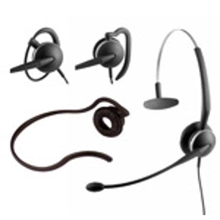 - Jabra GN-Netcom GN2124 (2104-820-105) Monaural 4-in-1 Wearing Style Flex Boom Noise Canceling Headset