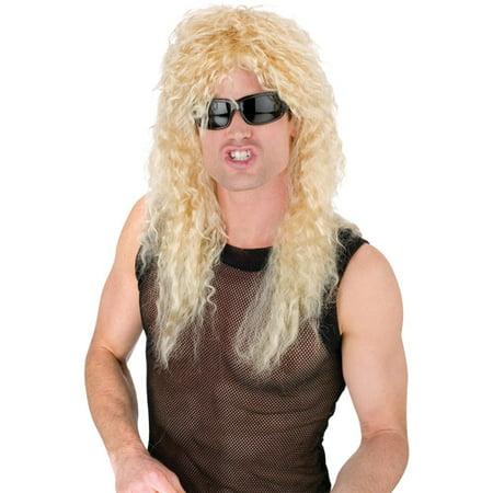 - Headbanger Wig Adult Halloween Accessory