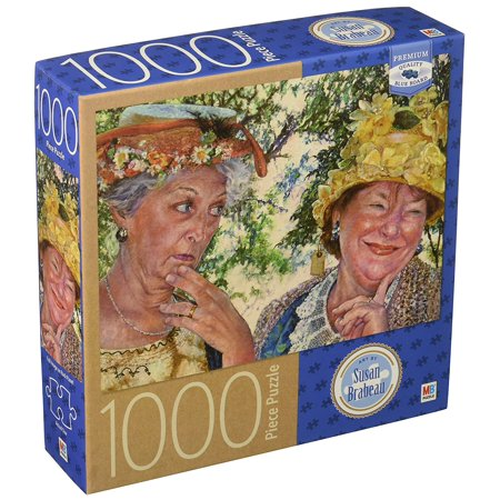 Best Jigsaw Puzzle - Milton Bradley Premium Blue Board Jigsaw Puzzle - Susan Brabeau - Best Friends: 1000 Pcs