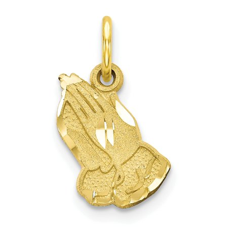 10K Yellow Gold PRAYING HANDS