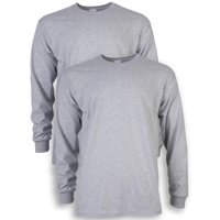 2-Pack Gildan Men's Ultra Cotton Long-Sleeve T-Shirt