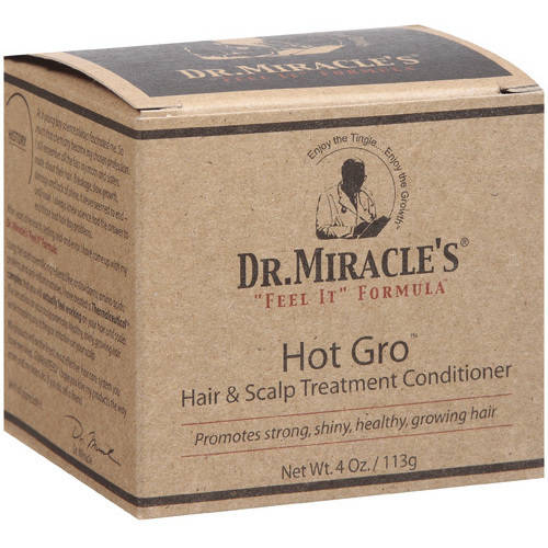 Dr. Miracle's Hot Gro Hair And Scalp Conditioner 4 oz