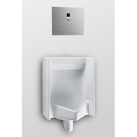 Back Spud Connection - Toto UT447EV Commercial Back Spud Inlet High Efficiency Urinal, 0.5 GPF - ADA Compliant