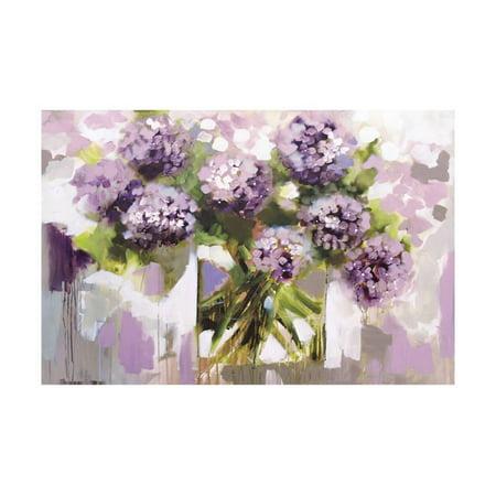 Blush Hydrangea Print Wall Art By Amanda J. Brooks