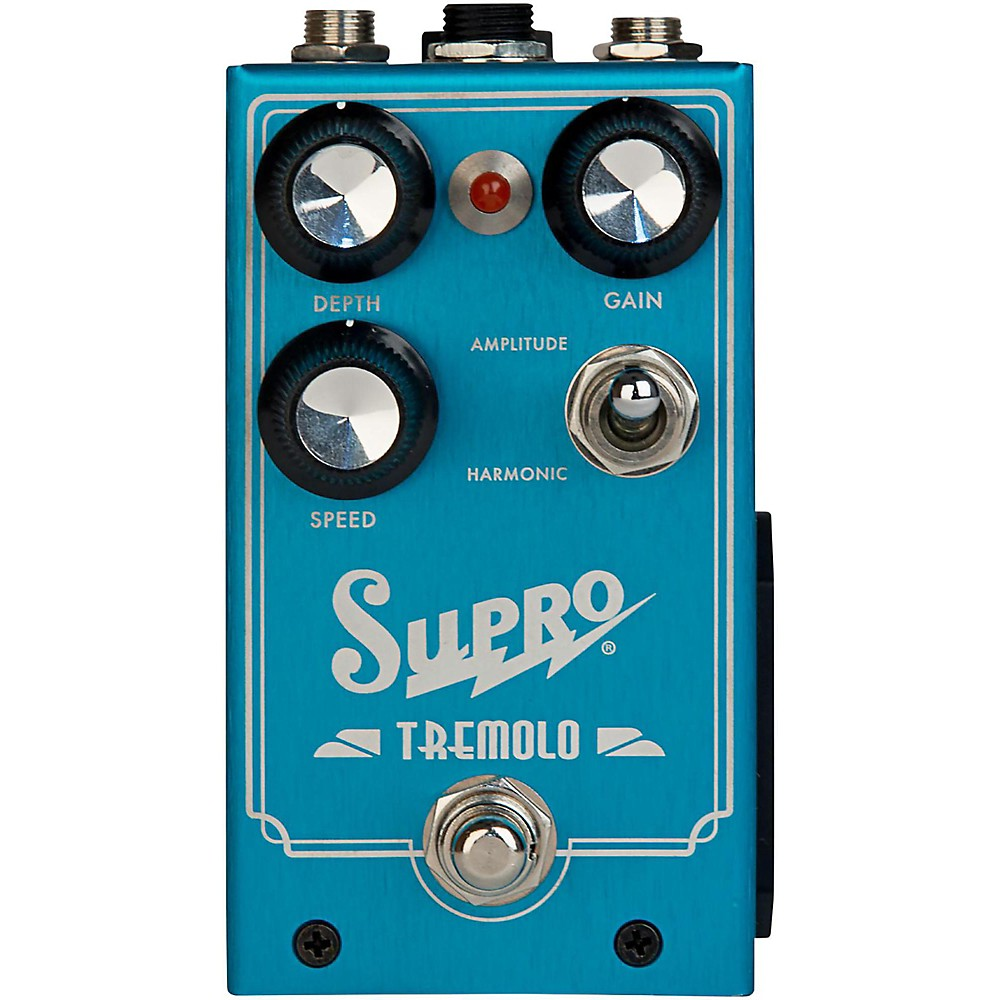Supro 1310 Analog Harmonic Tremolo Pedal by Supro