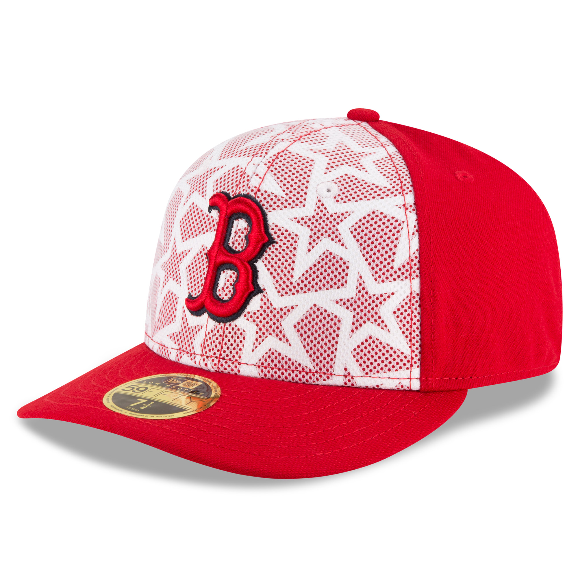 quality design 37016 029d6 ... canada boston red sox new era stars stripes low profile 59fifty fitted  hat white red walmart