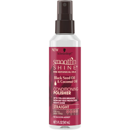 Smooth 'n Shine Straight Conditioning Polisher Spray, 5 (Gold Glimmer Shine Spray)