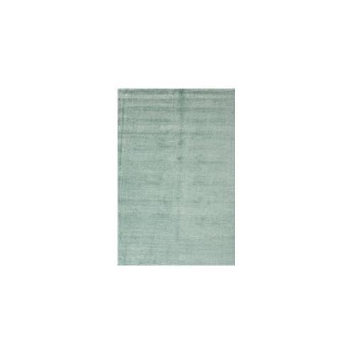 Jaipur Konstrukt Kelle RUG102360 8 inch W x 10 inch L Solid Pattern Wool and Silk Handloom Rug in Aruba Blue