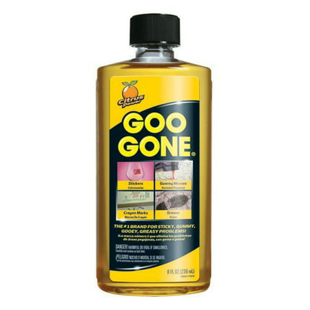 Goo Gone 8 Oz Removes Stickers Grease Gum Tar Crayon Tape Pack Of 2