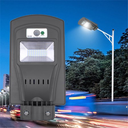 Pir Sensor Light (Zimtown 60W/40W/20W Outdoor LED Solar Street Security Light PIR Motion Sensor Floodlight)