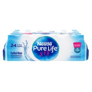 Nestle Pure Life Purified Water  8 Fl Oz  24 Count