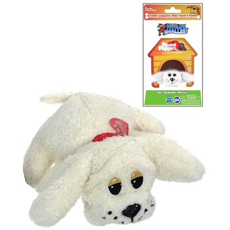 Pound Puppies Cream Poodle Worlds Smallest 2.5""