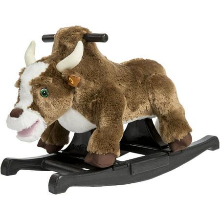 Rockin' Rider Brown Rocking Bull - Rocking Rooster