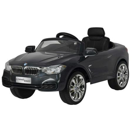 Best Ride On Cars  BMW 4 Series 12V Grey (Best Premium Gas For Bmw)