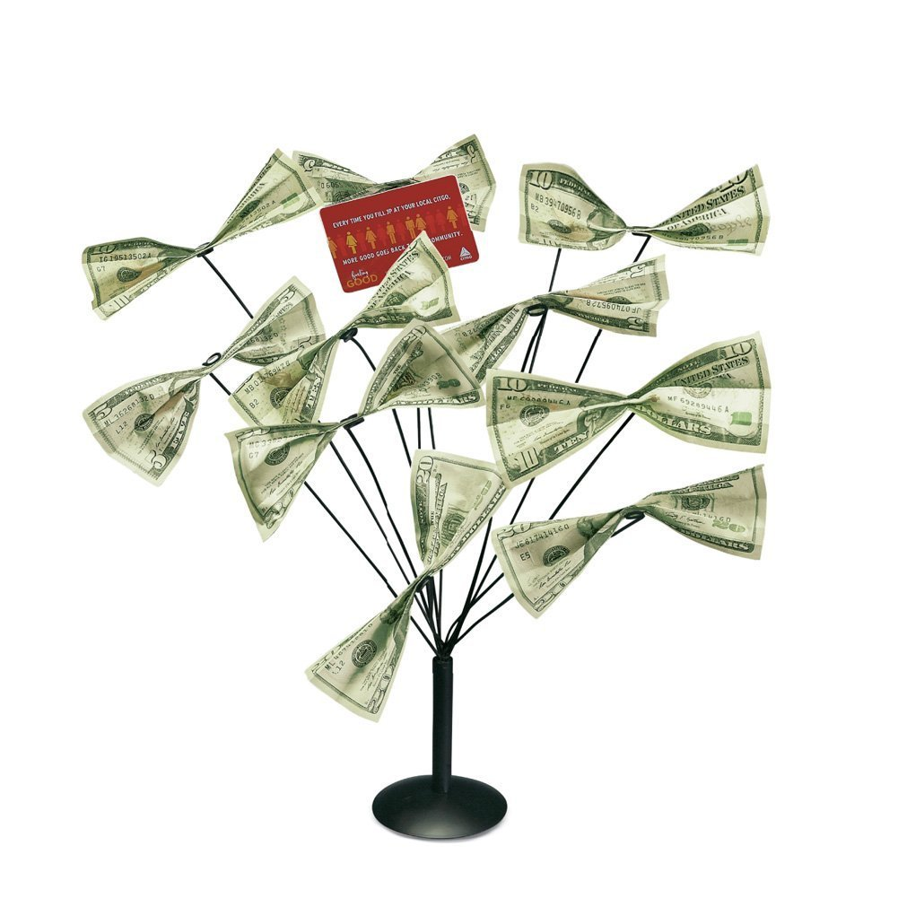 Money And Gift Card Tree Holder Walmart Com