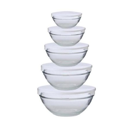 Upc 643700133489 alpine cuisine 5 piece nesting glass for Alpine cuisine skewers