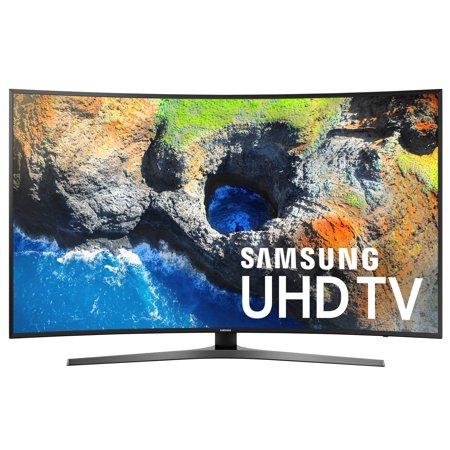 "Refurbished Samsung 55"" Class Curved 4K (2160P) Smart LED TV (UN55MU7500FXZA)"