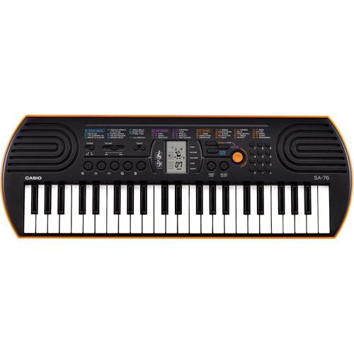 Casio SA76 44-Key Mini Personal Keyboard